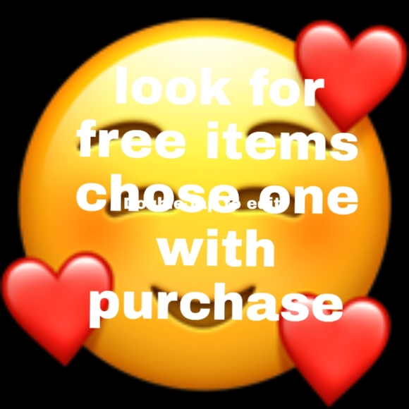 🥰🥰🥰🥰🥰 free with any purchase